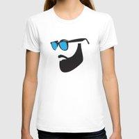 beard T-shirts featuring Beard by Paco Dozier