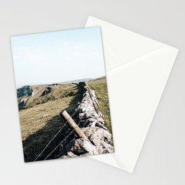 Open field at Winnats Pass Stationery Cards