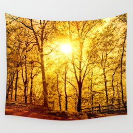 Soft sunset Wall Tapestry