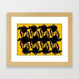 16 Janes Framed Art Print