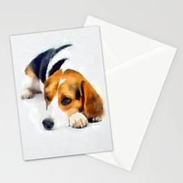 Beagle Bailey Stationery Cards