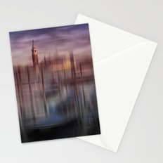 City-Art VENICE Gondolas at Sunset Stationery Cards