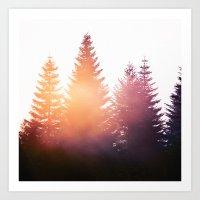 morning Art Prints featuring Morning Glory by Tordis Kayma