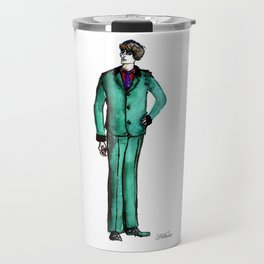 Arsenic Green Dandy Travel Mug