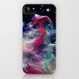 Eagle Nebula / Horsehead Nebula Deep Pastels iPhone Case