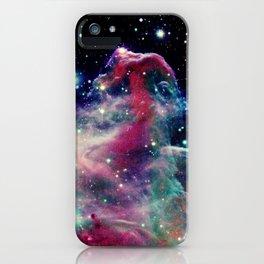 Eagle Nebula / Horsehead Nebula Deep Pastels iPhone Case