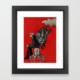 Dark Cloud. Framed Art Print
