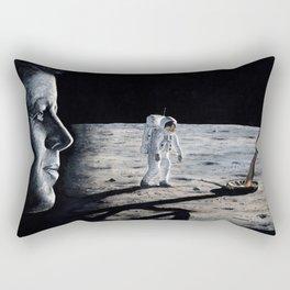 Achieving the goal Rectangular Pillow