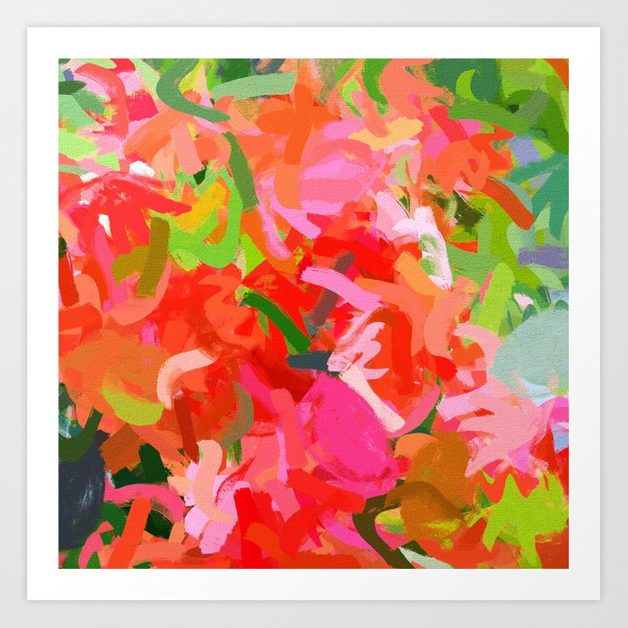 Preconceived Blossom abstract painting