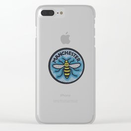 Manchester Bee Clear iPhone Case