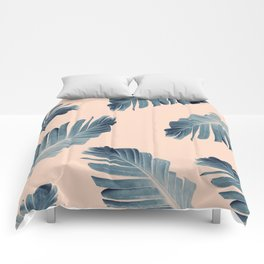 Tropical Banana Leaves Dream #7 #foliage #decor #art #society6 Comforters