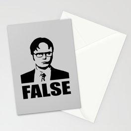 False funny saying Stationery Cards