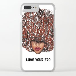Love Your Fro Clear iPhone Case