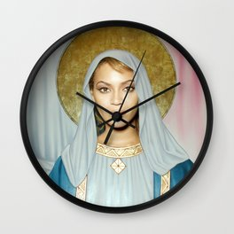 Our Lady of Flawlessness Wall Clock