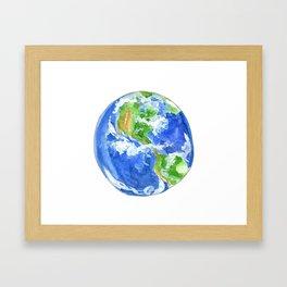 Earthly goodness Framed Art Print