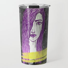 A Violet Gem Travel Mug