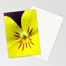 Purple Yellow Flower Stationery Cards