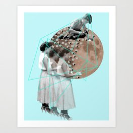 Gothic Moon Maker Art Print