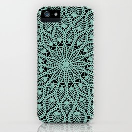 Delicate Teal iPhone Case