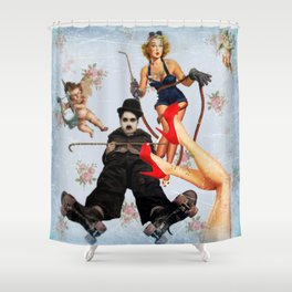 Charlie's Angels (2) Shower Curtain