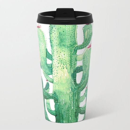 king cactu Metal Travel Mug