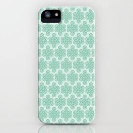 Green Celtic Knot I iPhone Case