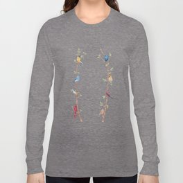 Bird Branches Long Sleeve T-shirt