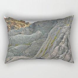 Sharp Rocks Rectangular Pillow