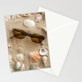 Mussels in the sand Stationery Cards