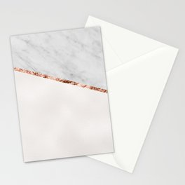 Park Avenue pearl marble Stationery Cards