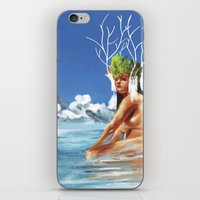 island iPhone & iPod Skins featuring ISLAND by Brian Foott