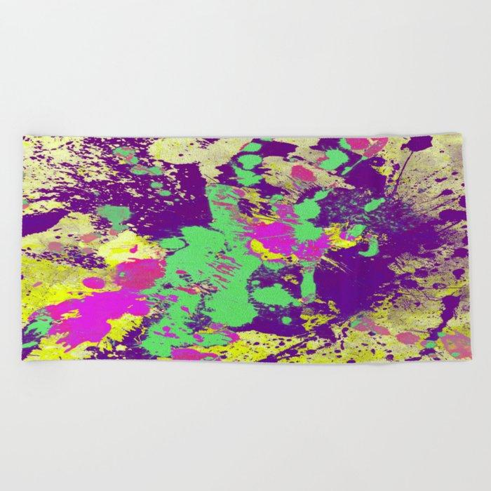 Colour Splash Beach Towel