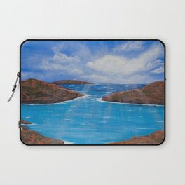 I Am a River Laptop Sleeve