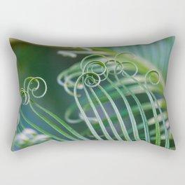 Palm frond spirals Rectangular Pillow