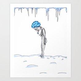 Brrrr Art Print