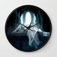 demon Wall Clocks featuring Demon by Joe Roberts