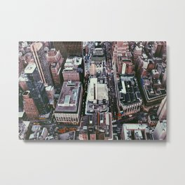 NYC, Sky View #1 Metal Print