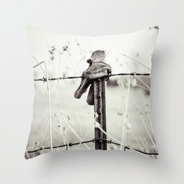 Farm Hands Throw Pillow