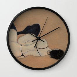 No Couture Needed (oil on canvas) Wall Clock