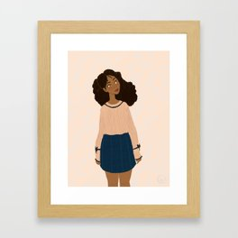 Rosa Framed Art Print