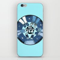 the breakfast club iPhone & iPod Skins featuring The Breakfast Club by LuisD
