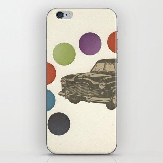 Driving Around in Circles iPhone Skin