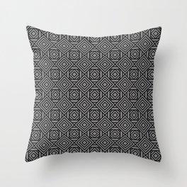 Innie Outtie BW Throw Pillow