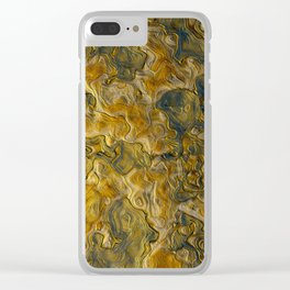 Abstract Studio 5 Clear iPhone Case