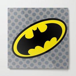 Bat man DC  Metal Print