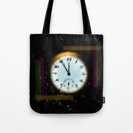 Time passes like soap bubbles Tote Bag