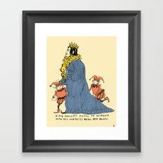 King Ancient Pistol of Weirdom Framed Art Print