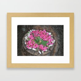 Goldsworthy Petals Framed Art Print