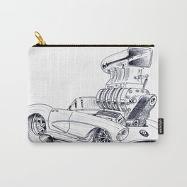 Blown Vette Carry-All Pouch