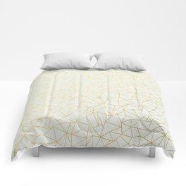 Geo Gold Comforters